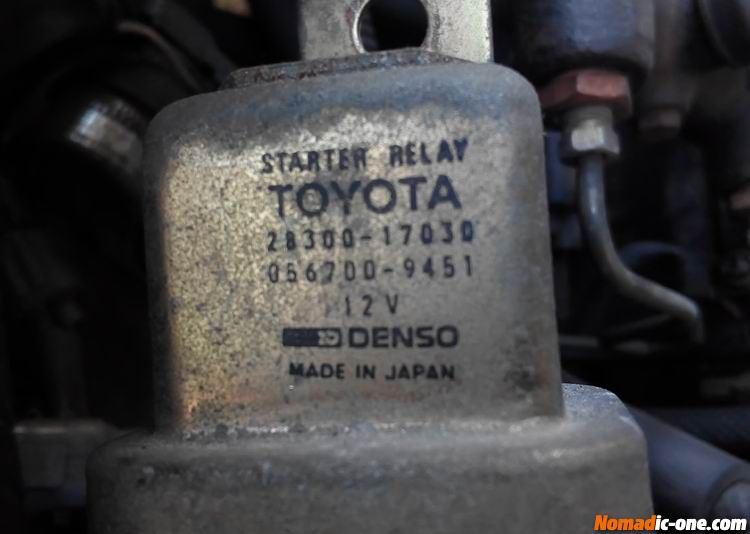 Toyota Land Cruiser starter motor problems | Nomadic One