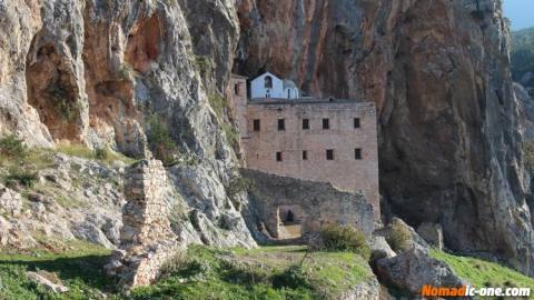 The Egg Monastery St-Demetrios near Nafplio in Greece