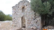 Prophet Elias Church near Nafplio Peloponesse Agrolidas Greece