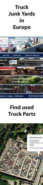 Truck Junk Yards in Europe